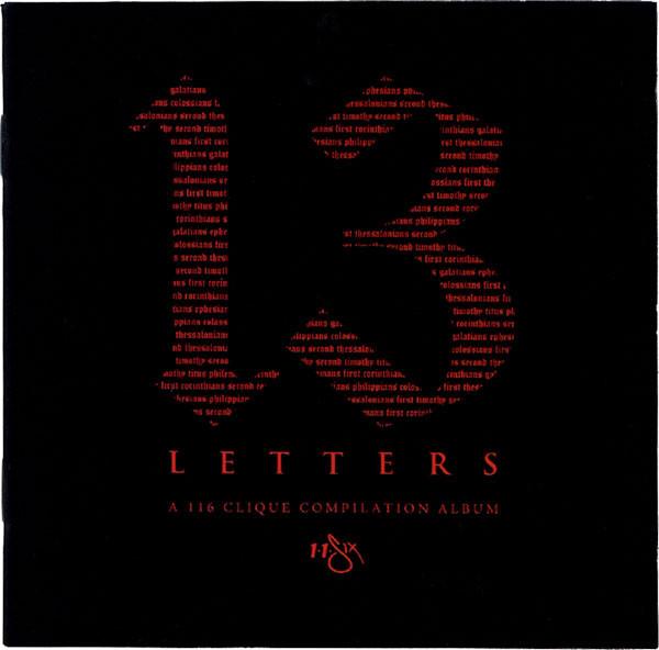 13 Letters A 116 Clique Compilation Album Audio CD