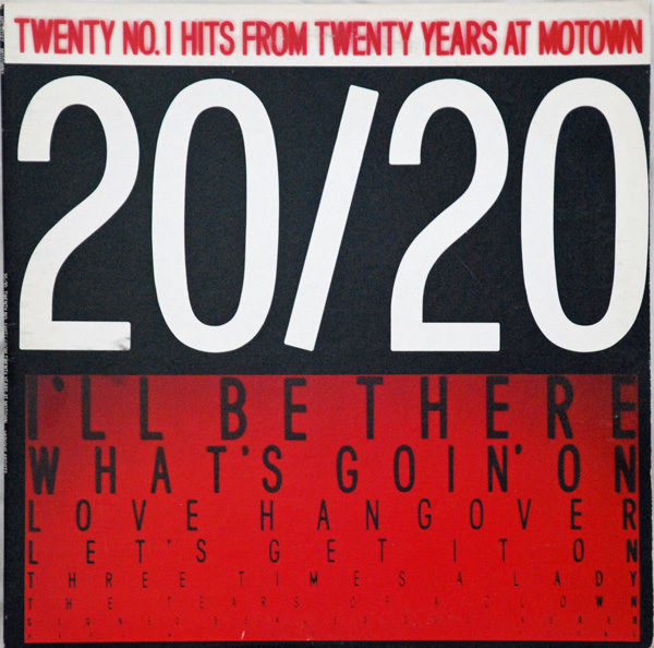 2020  Twenty Hits From Twenty Years Of Motown