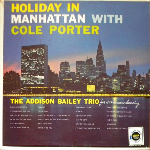 Holiday In Manhattan With Cole Porter