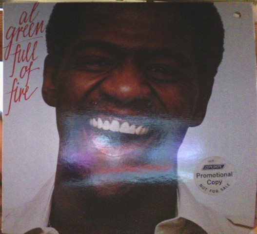 Al Green - Full Of Fire [vinyl] Al Green