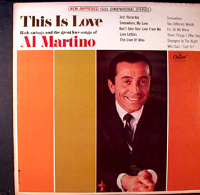 Al Martino - This Is Love Album