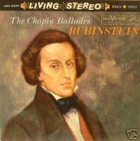 Artur Rubinstein Chopin Records Lps Vinyl And Cds