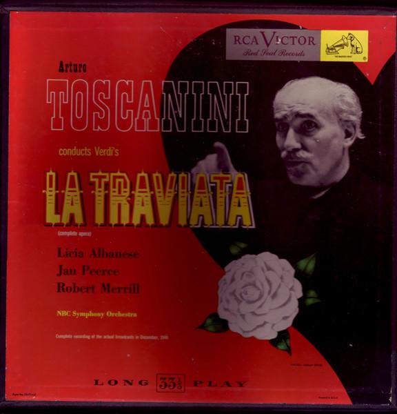 Arturo Toscanini Vinyl Record Albums