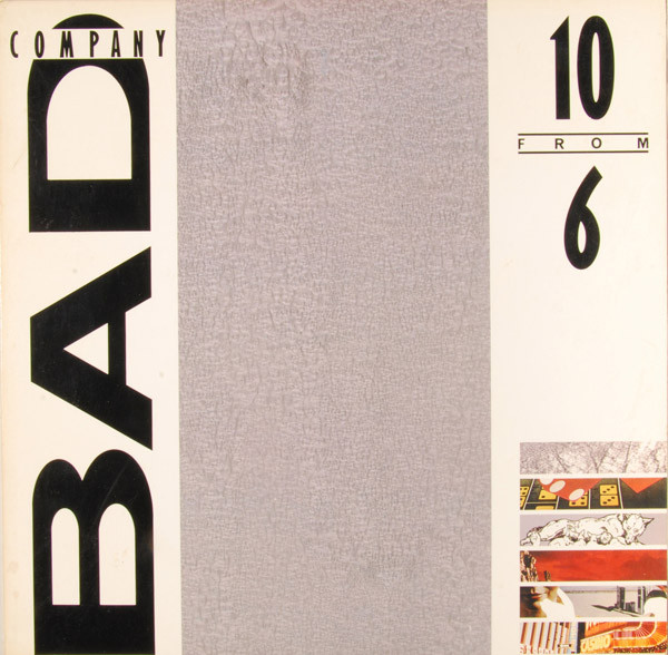 BAD COMPANY - 10 from 6 - LP