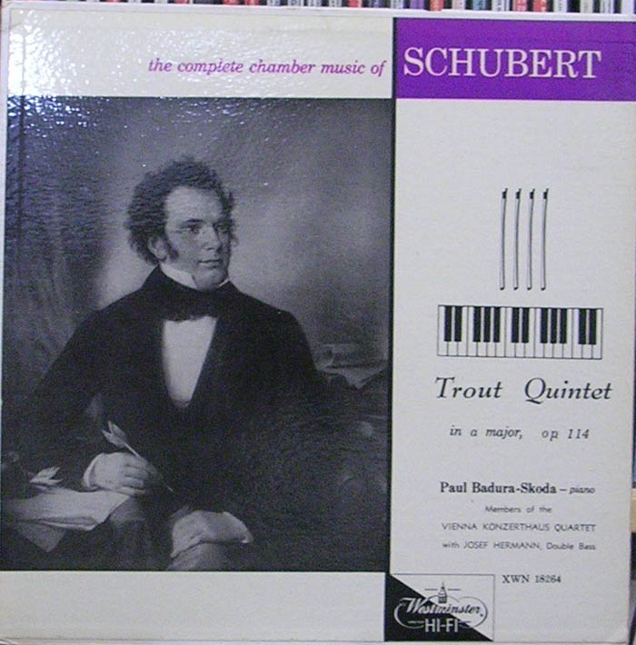 Schubert: Quintet In A Major Op. 114 (The Trout)