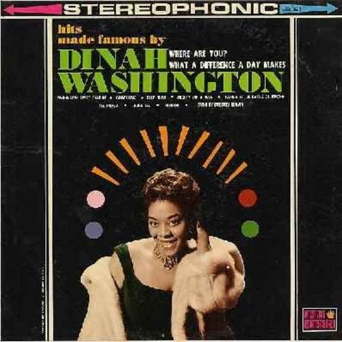 Hits Made Famous By Dinah Washington