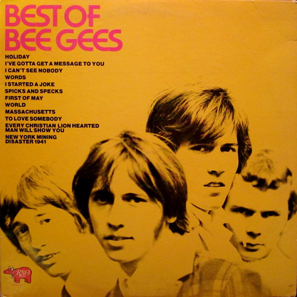 The Bee Gees Best Of The Bee Gees LP