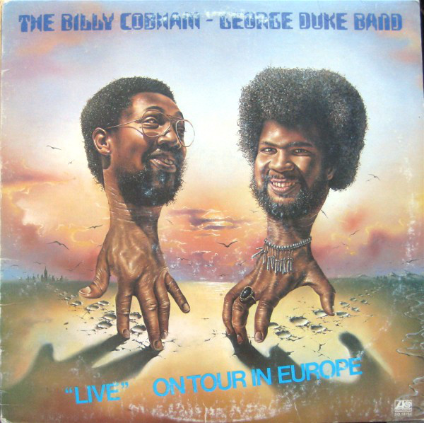 Billy Cobham/George Duke Band - Live On Tour In Europe LP