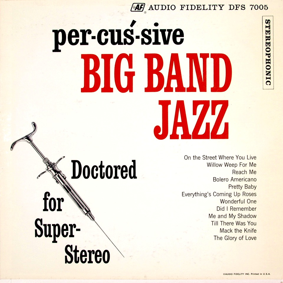 Percussive Big Band Jazz