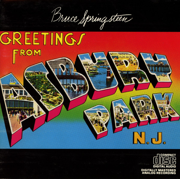 Greetings From Asbury Park N J Audio CD