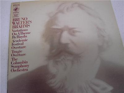 Brahms: The Columbia Symphony Orchestra