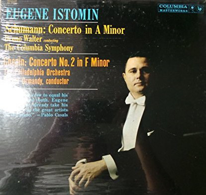 Schumann: Concerto In A Minor For Piano And Orchestra Op. 54 / Chopin: Concerto No. 2 In F Minor For Piano And Orchestra Op. 21