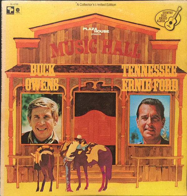 Music Hall (Country Gold Award Album) Buck Owens & Tennessee Ernie Ford