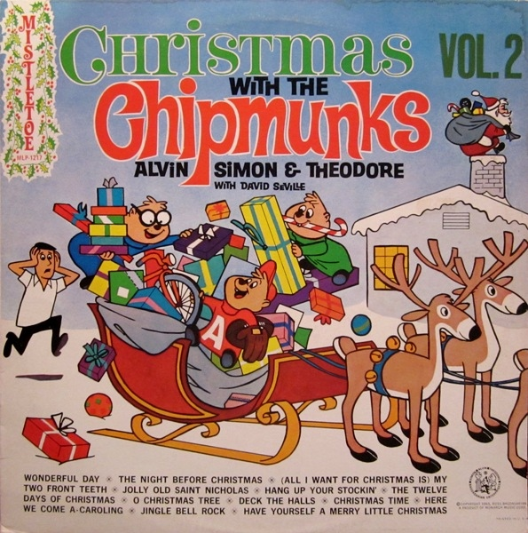 Christmas With The Chipmunks Volume 2