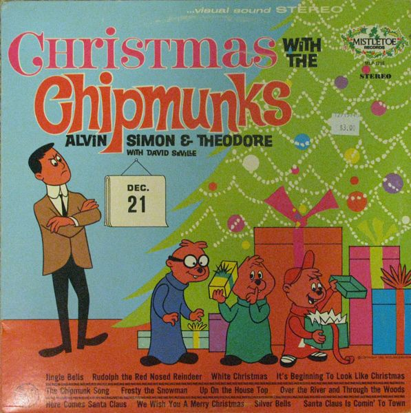 Christmas With the Chipmunks Record The Chipmunks