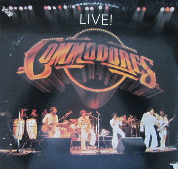 Commodores - Commodores Live! Record