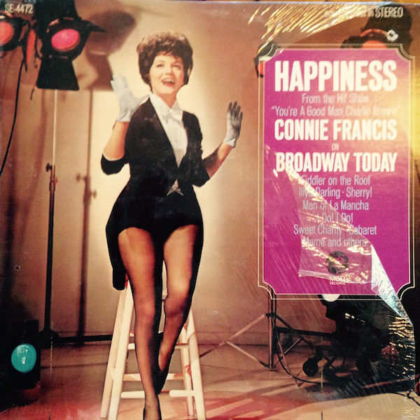 Connie Francis On Broadway Today