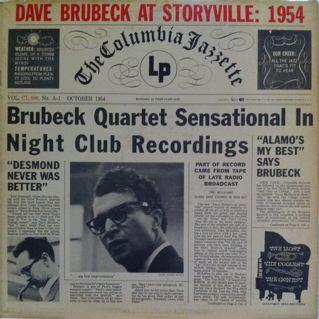 Dave Brubeck At Storyville: 1954