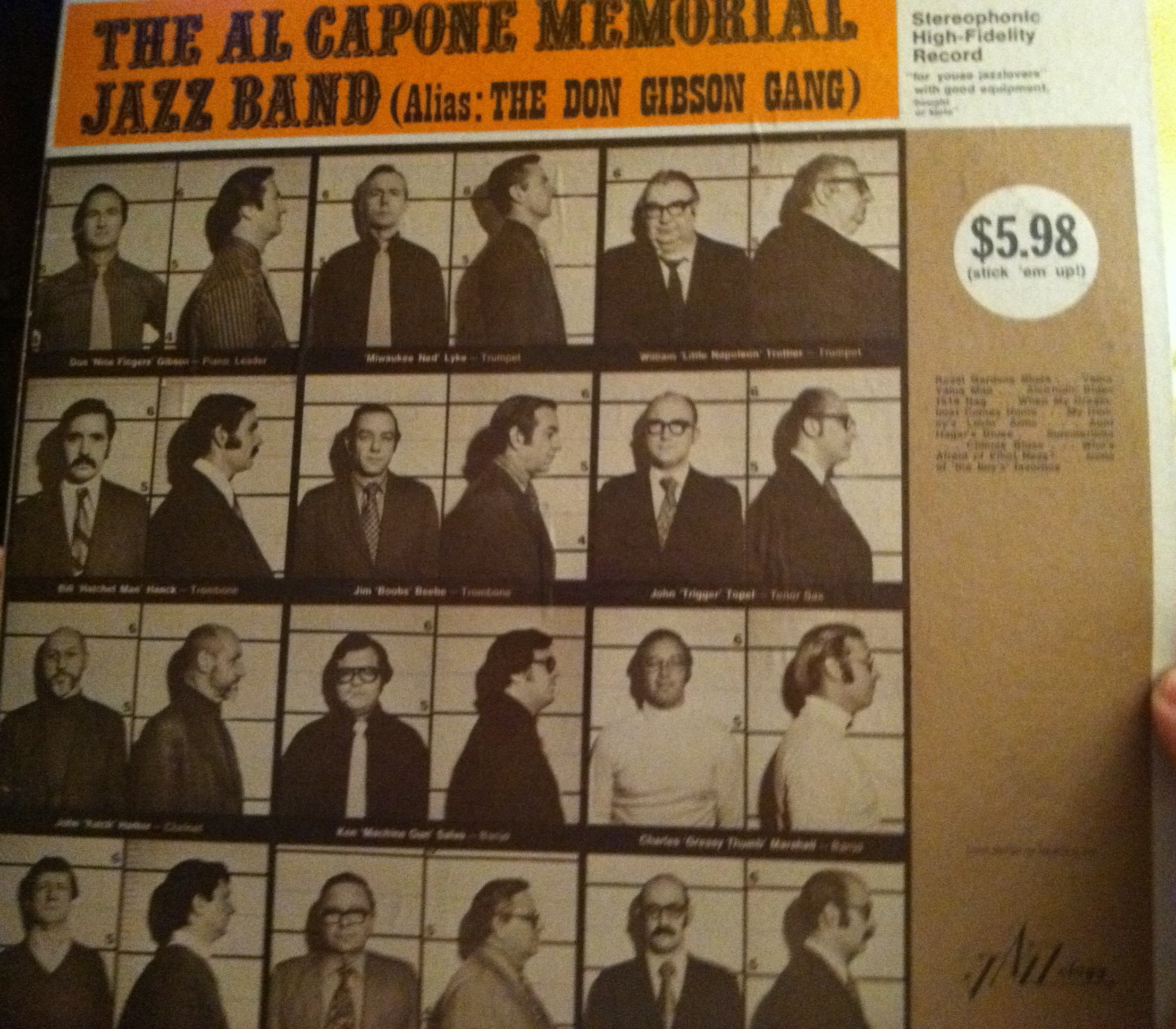 The Al Capone Memorial Jazz Band (Alias: The Don Gibson Gang)