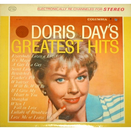 Doris Day Doris Day's Greatest Hits LP