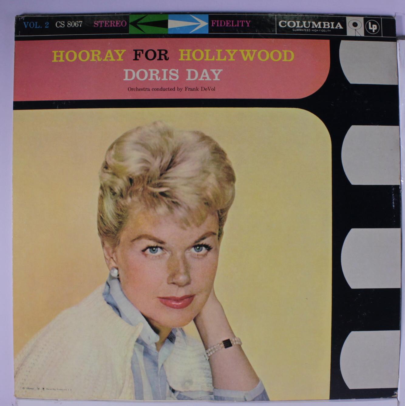 Doris Day Vinyl Record Albums
