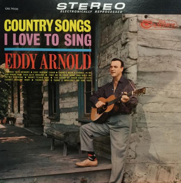 Eddy Arnold Vinyl Record Albums