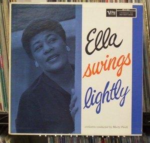 Ella Fitzgerald Ella Swings Lightly Vinyl Records Lp Cd