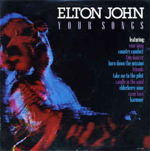 Elton John - Your Songs [vinyl] Elton John