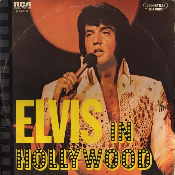 Elvis Presley Elvis+In+Hollywood LP