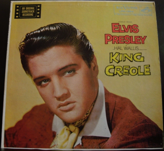 Elvis Presley King+Creole LP