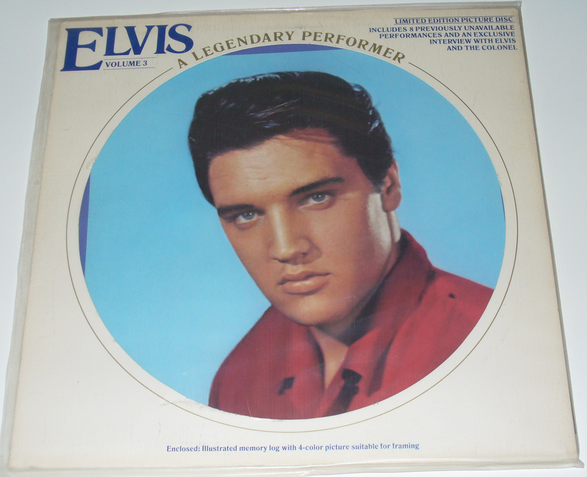 Elvis Presley - A Legendary Performer Vol. 3 [vinyl] Elvis Presley