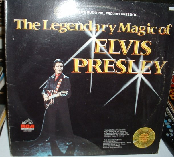 Elvis Presley - The Legendary Magic Of Elvis Presley [vinyl] Elvis Presley