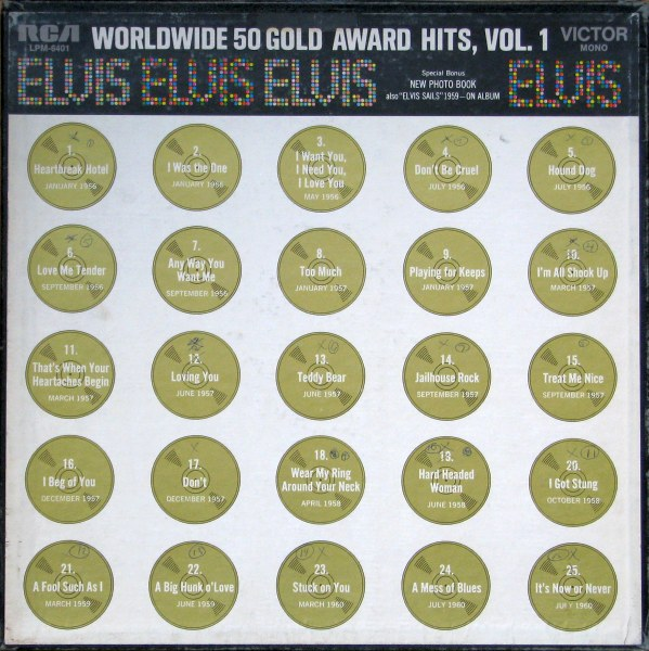 Worldwide 50 Gold Award Hits Vol. 1