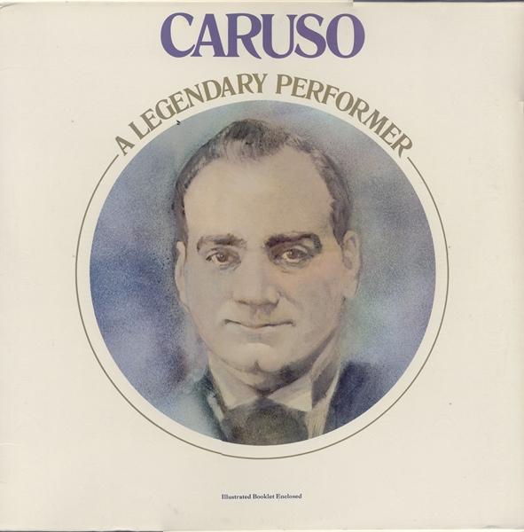 Enrico Caruso Vinyl Record Albums