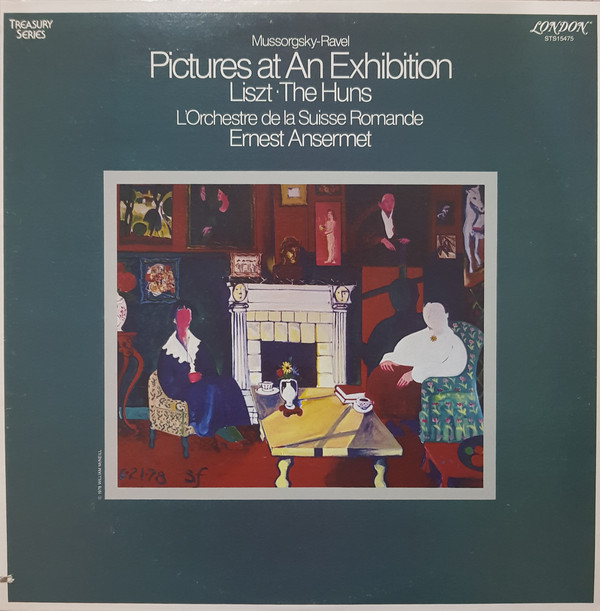 Mussorgsky Ravel Liszt Pictures At An Exhibition The Huns Vinyl