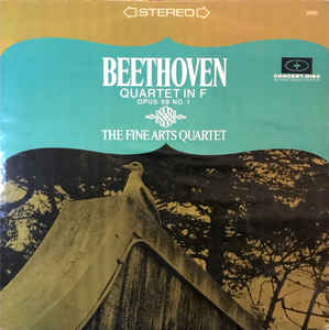 Beethoven Quartet In F Opus 59 No 1 Vinyl