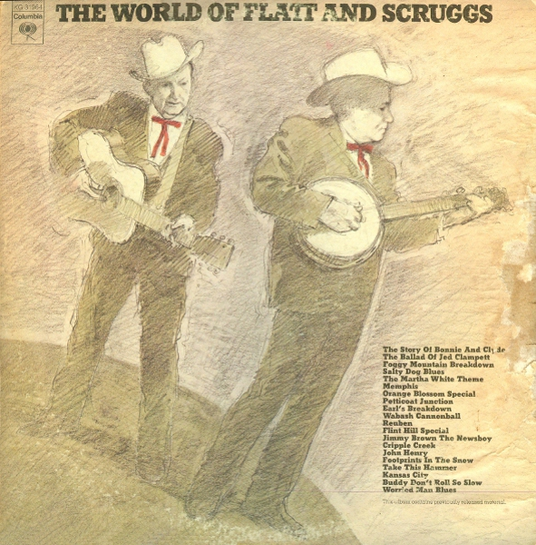 Flatt and Scruggs - The Best Of Flatt and Scruggs Volumes 1 and 2