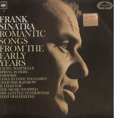 Frank Sinatra - Romantic Songs From The Early Years LP