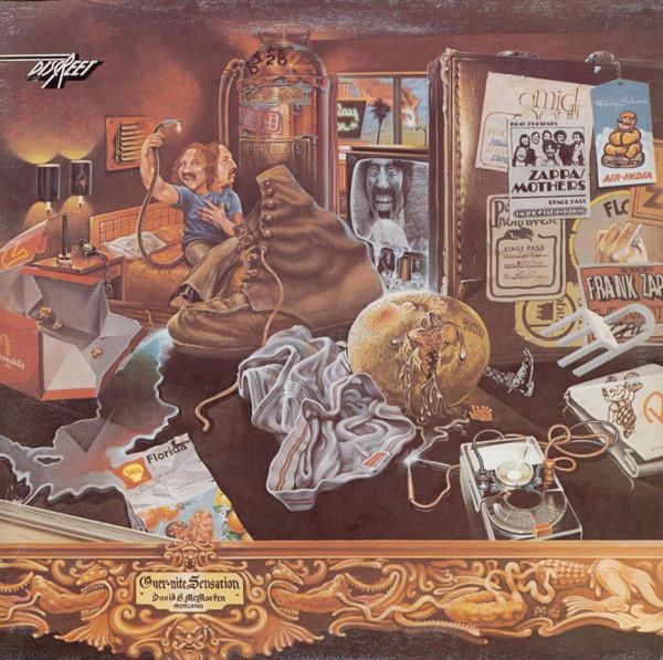 Frank Zappa Vinyl Record Albums