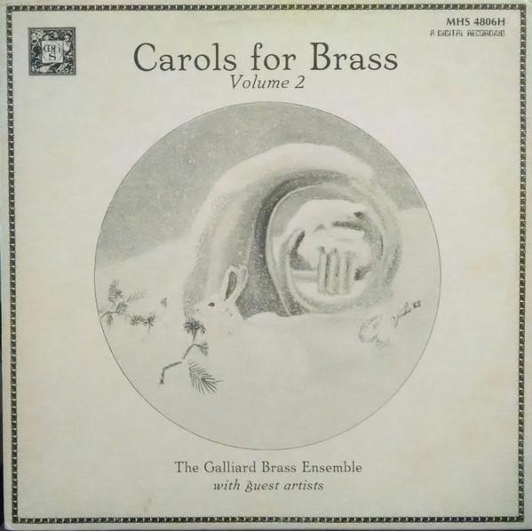 Carols For Brass Volume 2 Vinyl