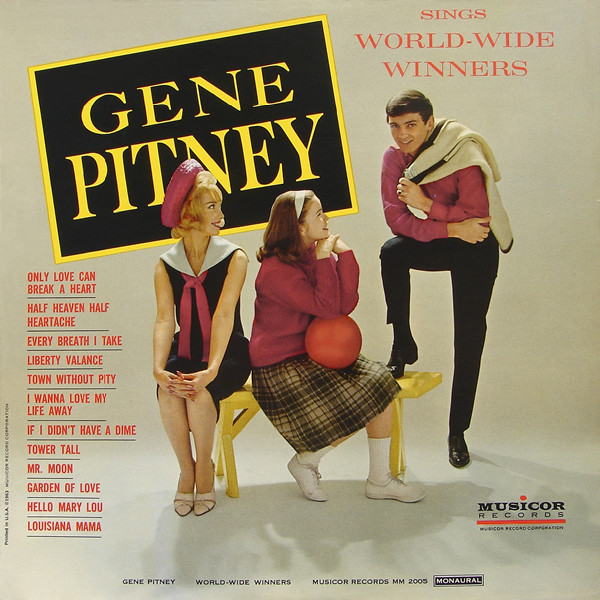 Gene Pitney - Sings World-wide Winners