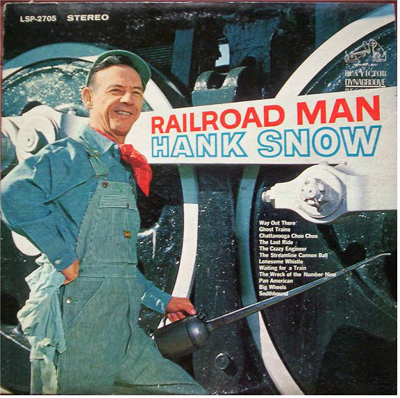 Hank Snow - Railroad Man [vinyl] Hank Snow