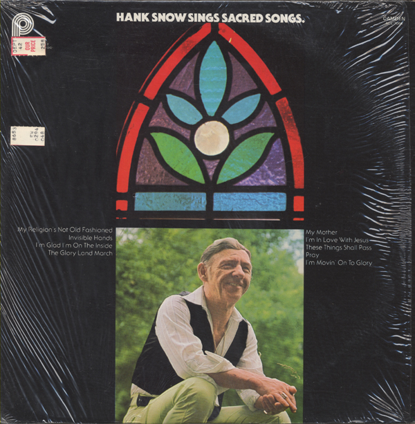 Hank Snow Sings Sacred Songs
