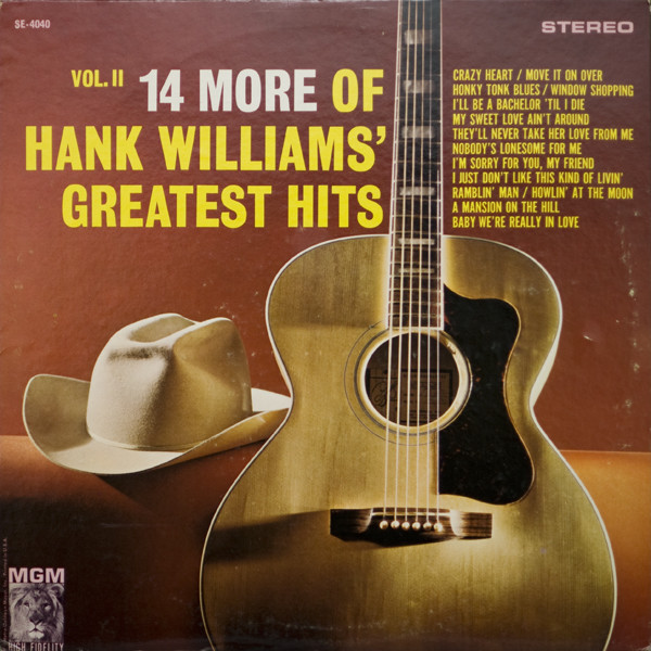 14 More Of Hank Williams' Greatest Hits Vol. II