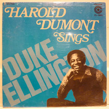 Harold Dumont Sings Duke Ellington Vinyl