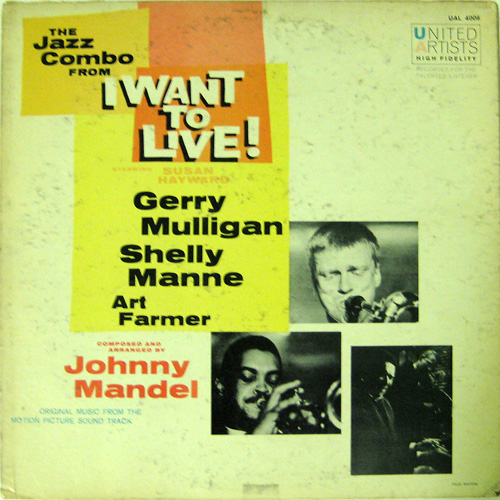 Gerry Mulligan - The Jazz Combo From I Want To Live [vinyl] Gerry Mulligan