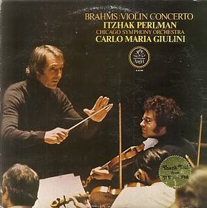 Brahms Carlo Maria Giulini Los Angeles Philharmonic Orchestra Symphony No 2 In D Major