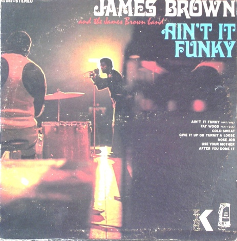 JAMES BROWN AND THE JAMES BROWN BAND - Ain't It Funky [Vinyl] - LP