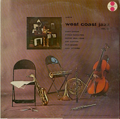 CHET BAKER; CHICO HAMILTON; GERRY MULLIGAN; ART PE - Jazz West Coast Volume III [Vinyl] Chet Baker; Chico Hamilton; Gerry Mulligan; Art Pepper; Bud Shank - LP