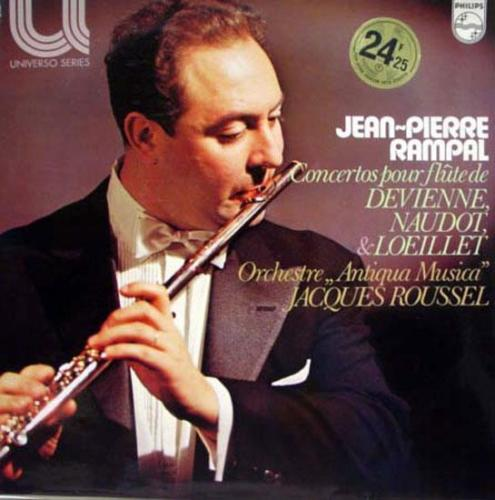 Jean-Pierre Rampal - Concertos Baroques Francais Pour Flute